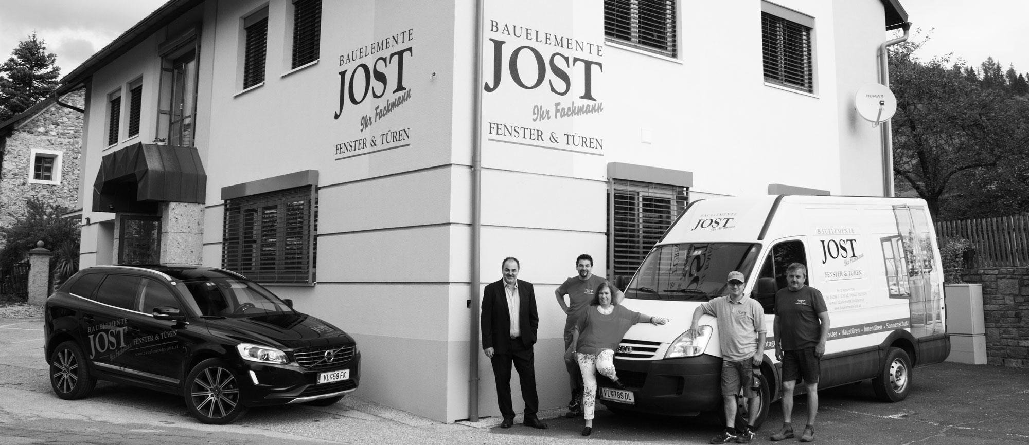 Das Team von Bauelemente Jost